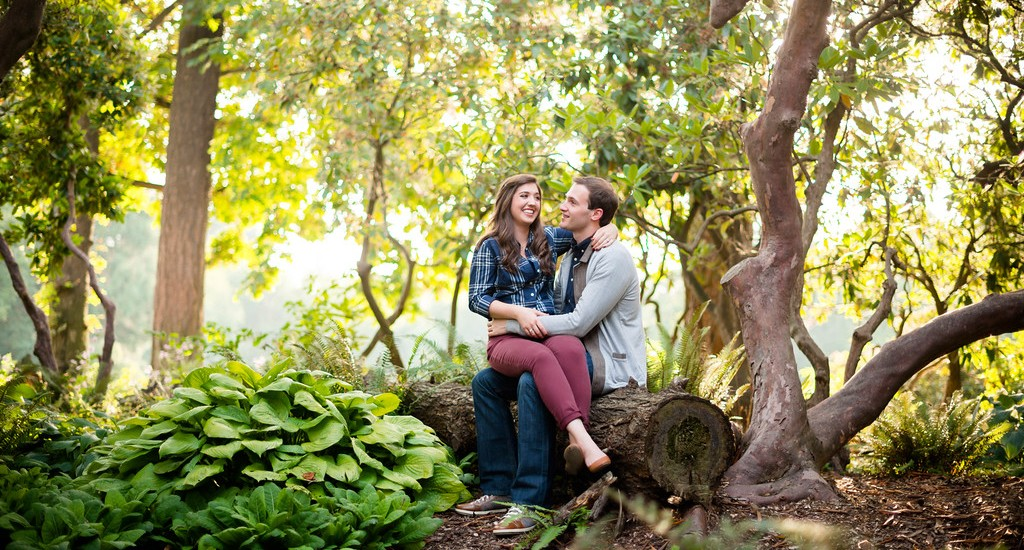 Portland Engagement Photographer, Tom and Sarah in Southeast Portland