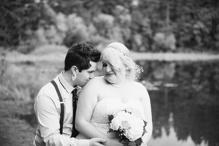 Portland Wedding Photographer, Private Lake Wedding